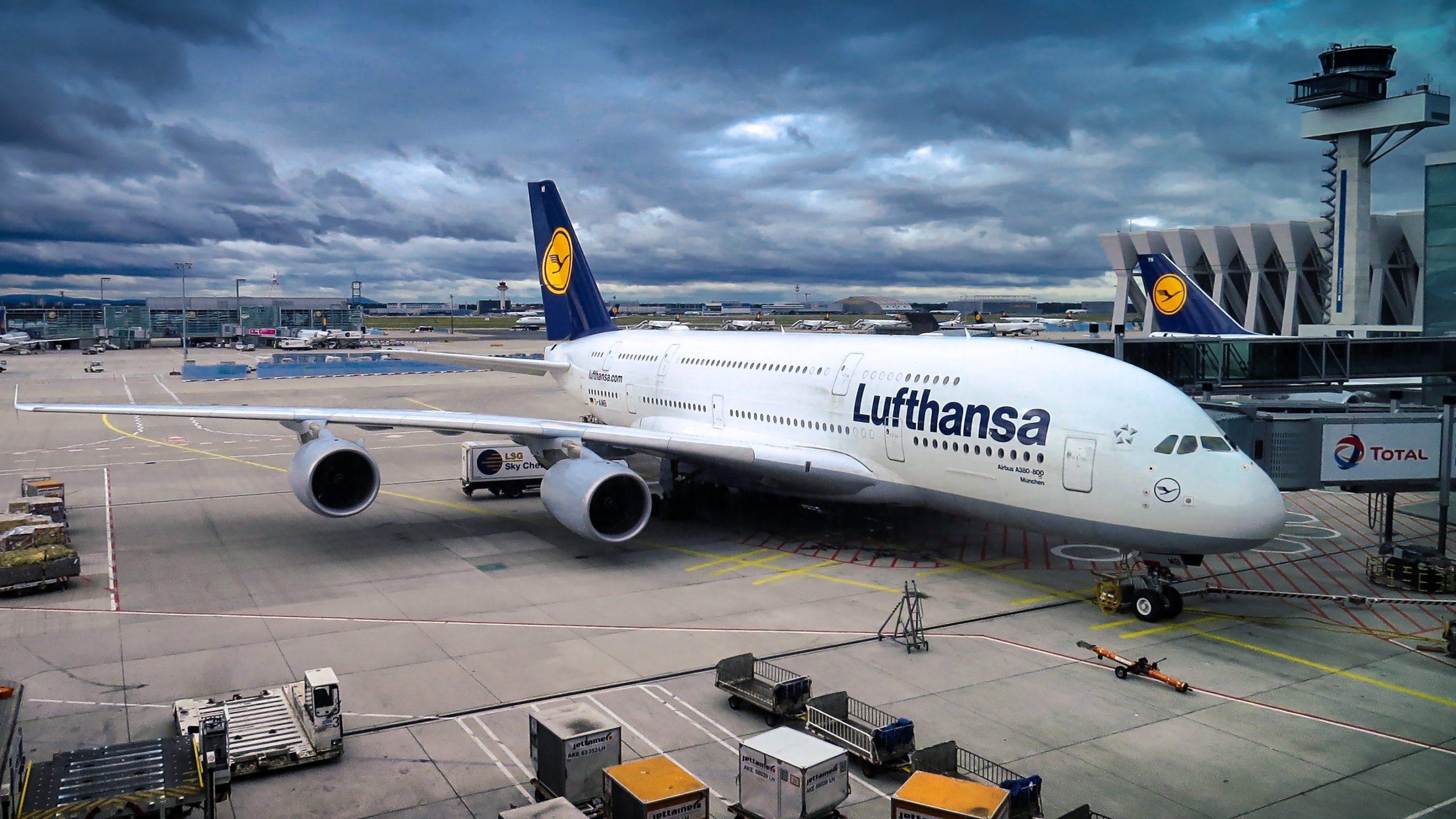 business trip Frankfurt Airport A380