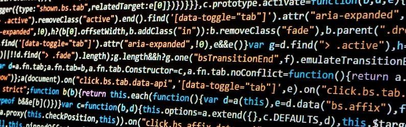 Farbige Computer Codierung