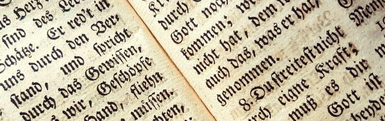 contenu allemand en gothique
